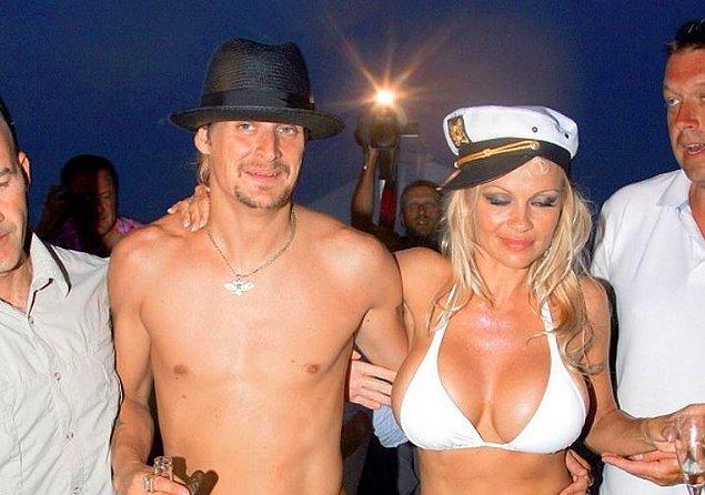 3. Pamela Anderson ve Kid Rock (2006):