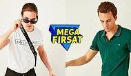 Mega Mayıs Başladı! Mega İndirimler Üstüne Erkek Giyime Özel Sepette %30 İndirim Daha Var!