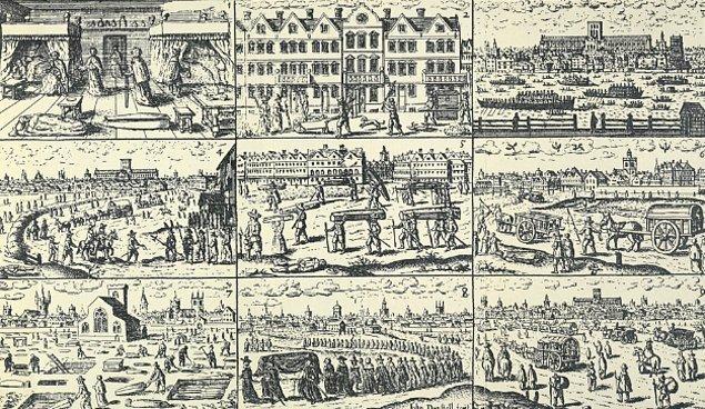 15. Mezarların 6 feet (1.828800 metre) ölçüsüyle kazılmasının nedeni, 1665'te patlak veren Büyük Londra Vebası.