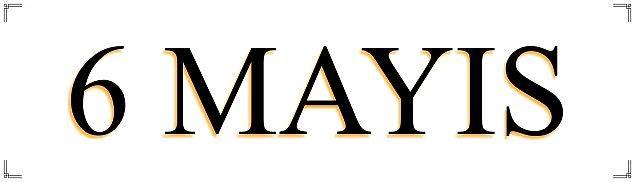 6 Mayıs