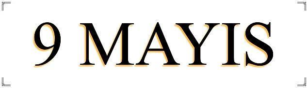 9 Mayıs