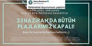 Tatil Beklesin! Belediyelerden 23 Haziran İstanbul Seçimleri İçin Vatandaşlara Aşırı Keyifli 'Sandığa Gidin' Çağrıları