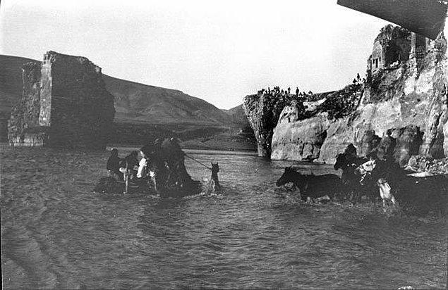 12. Dicle Geçidi, Hasankeyf, 1911.