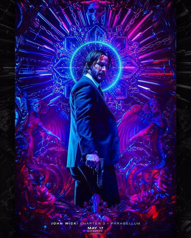 15. John Wick: Chapter 3 - Parabellum filminden bir poster yayınlanandı.