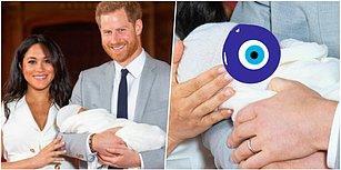 Merakla Beklenen İlk Fotoğraf Geldi! İşte Karşınızda Kraliyetin En Küçük Üyesi, Prens Harry ve Meghan Markle'ın Bebeği 😍