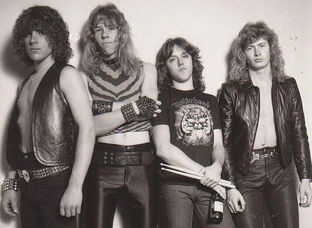 İlk grubunun ardından, 20 yaşındayken, dünyaca ünlü müzik grubu Metallica ile yolları kesişecekti.