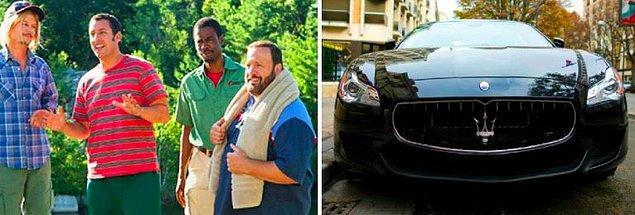 20. 4 tane Maserati - 1 milyon dolar