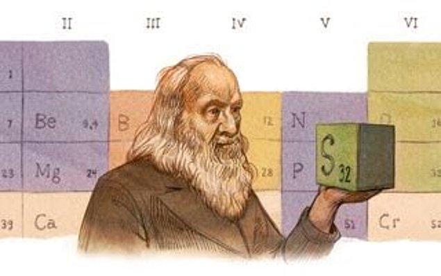 7. Periyodik tabloyu yaratan Dmitri Mendeleev, ayrıca Rusların votka standartlarının da yaratıcısıdır.