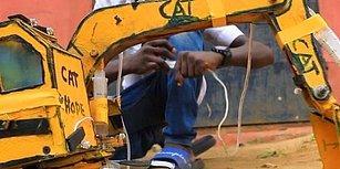 Hidrolik Oyuncak İş Makinesi Yapan 15 Yaşındaki Mucit: Hope Emmanuel Frank
