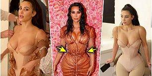 Sırrını Öğrendik! Kim Kardashian'ın İnce Belli Görünmek İçin Çişini Bile Yapamadığı Korsesi Gündem Oldu