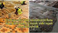 Antakya'da Bir Otel İnşaatı Sırasında Tesadüf Eseri Keşfedilen Bu Eşsiz Mozaiğe Hayran Kalacaksınız!