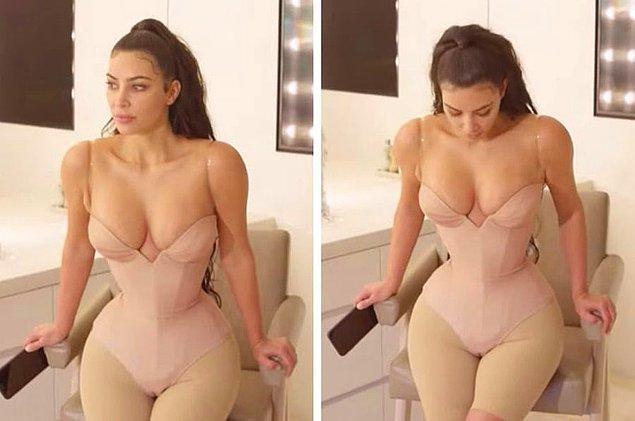 15. Kim Kardashian'ın ince bel sırrı ortaya çıktı hanımlar, koşun!