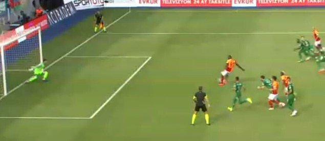 37.dakikada Diagne penaltı atışından yararlanamadı.
