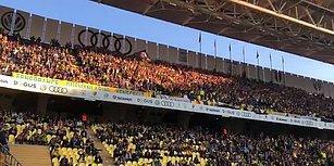 Fenerbahçe - Akhisarspor Karşılaşması Öncesi 'Her Şey Çok Güzel Olacak' Sloganları Atıldı
