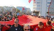 19 Mayıs'ın 100. Yılı Anısına Samsun'da 1919 Metrelik Türk Bayrağı ile Kutlamalar Yapıldı #YürüyoruzYolunda