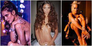 Instagram Stiline Uygun Pozlarıyla Çıplaklığın da Estetik Durabileceğini Göstermek İsteyen 14 Ünlü