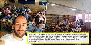 Ama Siz Çok Güzelsiniz! Öğrencileriyle Birlikte Ramazan Kolisi Hazırlayarak İhtiyaç Sahibi Ailelere Ulaştıran Öğretmenler