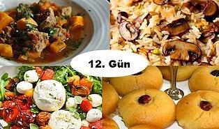 ''Akşam İftara Ne Pişirsem?'' Diye Düşünmeyin! Ramazan'ın 12. Günü İçin İftar Menüsü Önerisi
