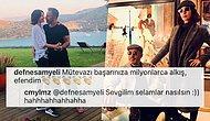 Aşklarıyla Herkesi Kıskandıran Cem Yılmaz ve Defne Samyeli'nin Instagram'da Tatlı Tatlı Flörtleştikleri Paylaşımları