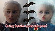 Baby of Thrones: Snapchat'in Bebek Efektiyle Diziyi 0-6 Yaş Seviyesine Çeken 16 Game of Thrones Karakteri
