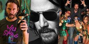 Anlattığı Minnoş Anısıyla Keanu Reeves'in Gönlümüzde Tekrar Tekrar Taht Kurmasını Sağlayan Twitter Kullanıcısı