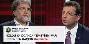 Ahmet Hakan'ın Ekrem İmamoğlu'na Söz Hakkı Vermeyerek Programı Erken Bitirmesine Gelen Tepkiler