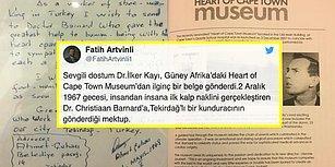 1960'lı Yıllarda Güney Afrikalı Bir Kalp Cerrahına Mektup Yazıp Teşekkür Eden Tekirdağlı Kunduracı Ahmet Çuhacı