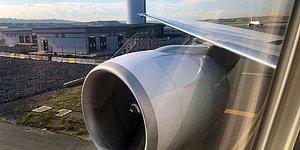 İstanbul Havalimanı'nda Korkutan Kaza: THY Uçağı Kalkış Öncesi Direğe Çarptı