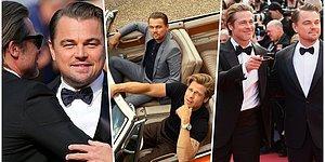 Hâlâ Taş Gibiler! Once Upon A Time In Hollywood'un Cannes Gösteriminde Herkesi Kendilerine Hayran Bırakan Brad Pitt ve Leonardo DiCaprio