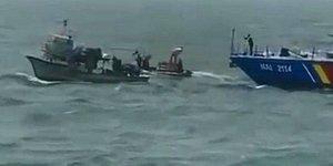 3 Kişi Yaralandı: Romanya'nın Karadeniz'deki Türk Balıkçılarına Gerçek Mermilerle Saldırı Anı Kamerada
