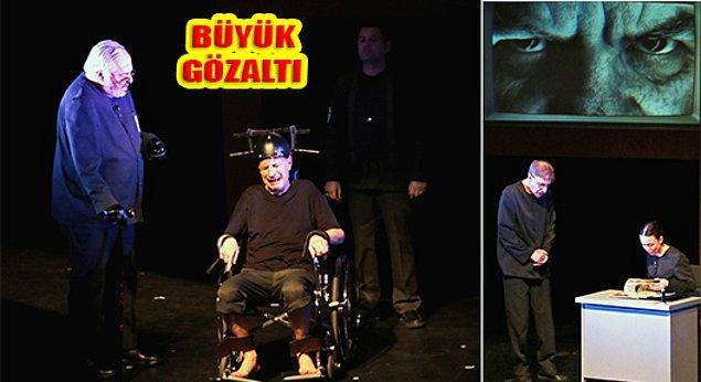 13. İngiliz yazar George Orwell'in kült eseri 1984; Rutkay Aziz yönetmenliğinde tiyatroseverlerle buluşuyor.