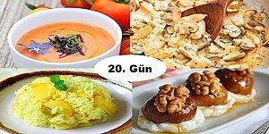 Akşam İftara Ne Pişirsem?' Diye Düşünmeyin! Ramazan'ın 20. Günü İçin İftar Menüsü Önerisi