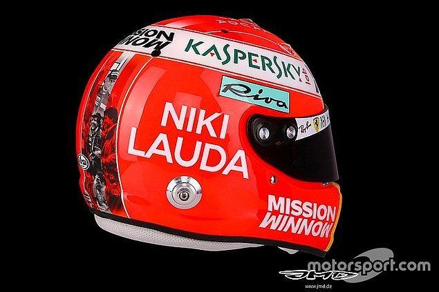 Sebastian Vettel de geçtiğimiz günlerde hayatını kaybeden Niki Lauda'yı unutmadı.