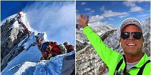 Hayallerini Gerçekleştirmek İçin Çıktığı Everest'te Rahatsızlanınca Oluşan Uzun Kuyruk Nedeniyle Aşağı İndirilemeyip Hayatını Kaybeden Dağcı