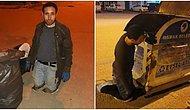 İki Bacağını Kaybeden ve Çöp Toplayarak Hayatını Devam Ettirmeye Çalışan Aydın Abi İçin Sosyal Medya Seferber Oldu!