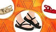 Bu Sandaletler Yaz Bittikten Sonra Bile Konuşulacak! Yılın En Moda Sandaletleri İnanılmaz Fiyatlarla Burada!