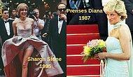 Çok Zarifler!  Cannes Film Festivali'nde Geçmişte Bazı Ünlü Yıldızların Nasıl Giyindiğini Hiç Merak Ettiniz mi?