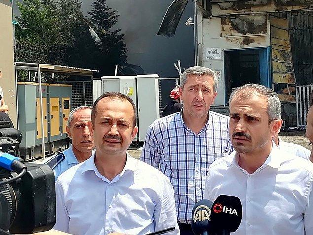 """Çayırova Belediye Başkanı Bünyamin Çiftçi """"Şu anda öyle bir söylem var ama net bir bilgi yok"""" dedi."""