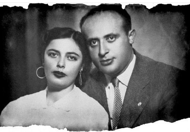 4. Türkiye Cumhuriyeti'nin 9. Cumhurbaşkanı Süleyman Demirel ve karısı Nazmiye Demirel, Isparta, 1948.