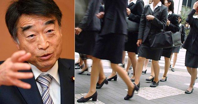 Toplanan 20.000 imzalı dilekçe, Japonya Çalışma Bakanlığı'na sunuldu.
