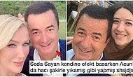 Kolay Gelsin Bacım! Seda Sayan'ın Photoshop Filtresi Yüzünden Bambaşka Bir İnsana Dönen Acun Ilıcalı Herkesin Diline Düştü