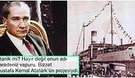Titanik Değil, Karadeniz Vapuru! Mustafa Kemal Atatürk'ün Bir Türkiye Müzesine Çevirerek Avrupa'yı Karış Karış Dolaştırdığı Gemi