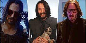 Her Hareketi ile Kalplerimizi Tekrar Tekrar Kazanan Keanu Reeves İçin Yapılan Birbirinden Eğlenceli 23 Paylaşım