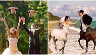 Beterin Beteri Varmış! Rus Çiftlerden Her Biri Biririnden Anlamsız Düğün Fotoğrafları