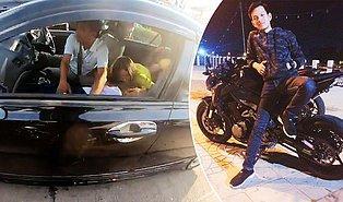 Yoğun Trafikte Epilepsi Nöbeti Geçiren Çocuğun Yardımına Koşarak Hastaneye Yetiştiren Kahraman Motorcu