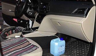 Bidonlu İçki Düzeneği: 9. Kez Alkollü Yakalanan Sürücünün 2054 Yılına Kadar Ehliyetine El Konuldu
