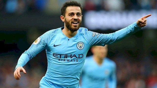 11 - Bernardo Silva / Manchester City - 136.9 milyon €