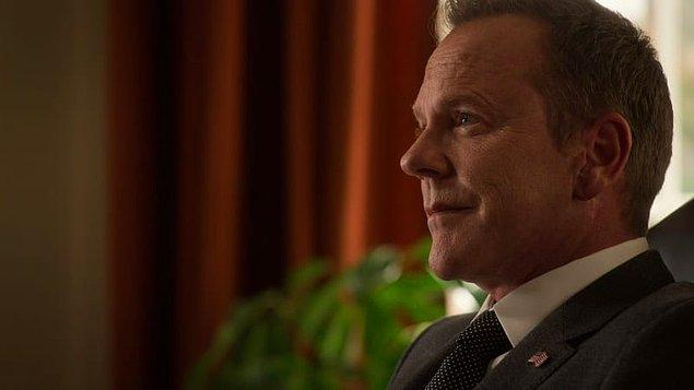 12. Geçen sene ABC'nin iptal ettiği Designated Survivor, üçüncü sezonuyla Netflix'te başladı. Başkan Kirkman, ikinci dönem için çabalamaya karar verdi.