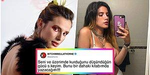 Bella Throne Bir Hacker'ın Tehditleri Üzerine Korkmadığını Göstermek İçin Sosyal Medyada Kendi Müstehcen Fotoğraflarını Paylaştı!