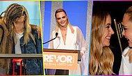 Nasıl Güzelsiniz! Cara Delevingne'in Katıldığı Bir Törende Sevgilisi Ashley Benson'ı Anlatırken Yaptığı Duygusal Konuşma